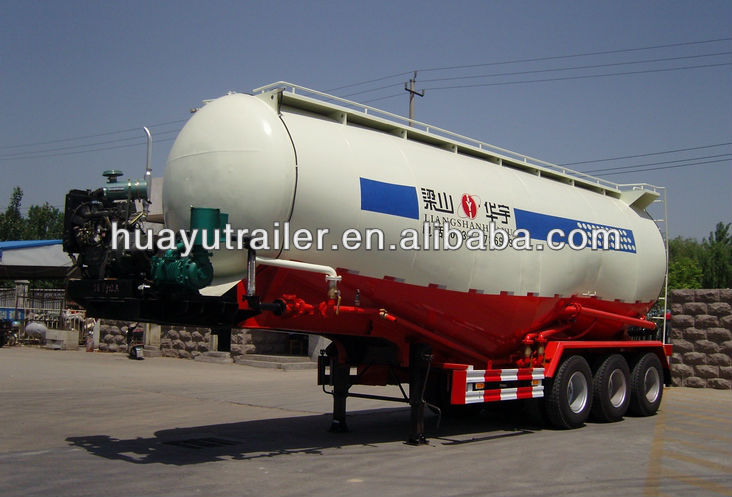 Bulk cement tank semi trailer for sale