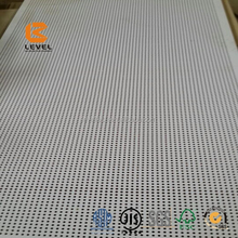 White Painted Perforated Groove Acoustic Panels Interior Soundproof Carved Decoration Panels