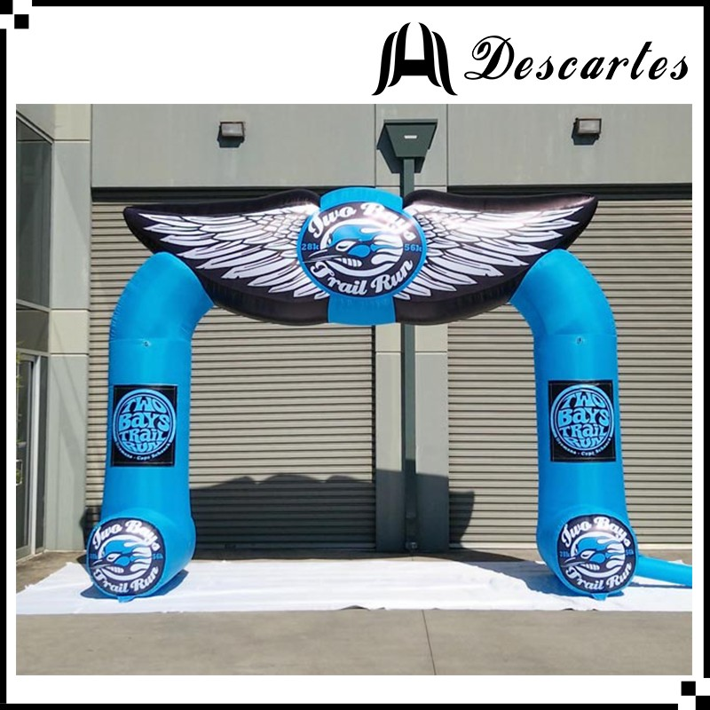 Waterproof custom inflatable special arch,inflatable advertising entrance door