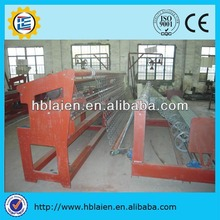 Fully automatic chain link fence making machine