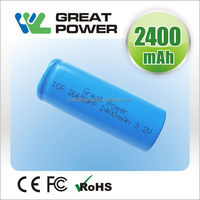 2015 promotional 3.2 volt lifepo4 battery