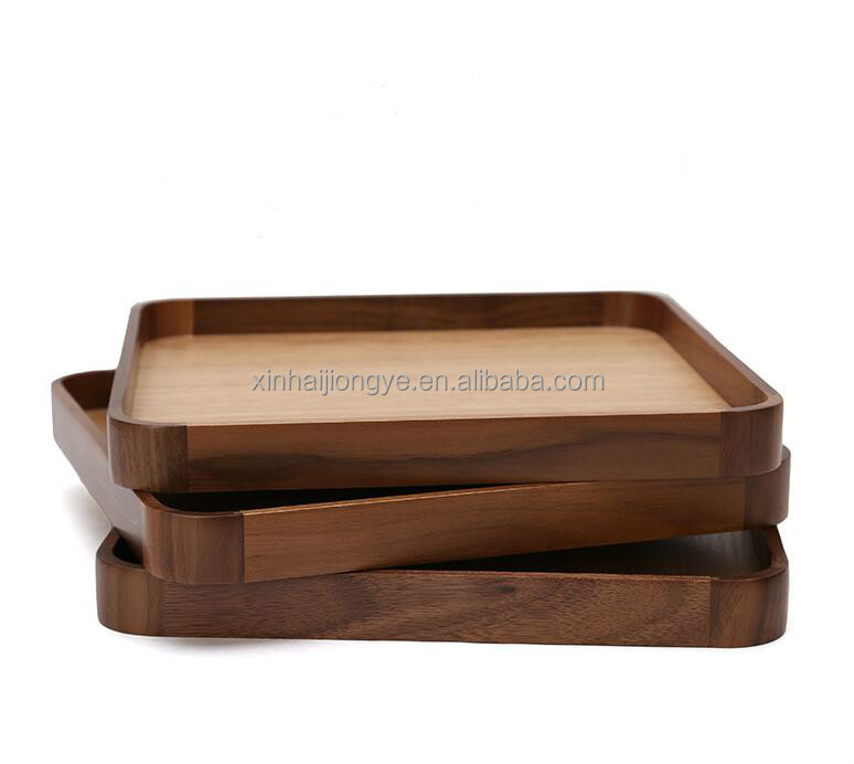 Walnut Candy Wooden Storage Trays