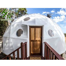 High Quality Luxury Geodesic Dome Transparent Family Camping Tent From Camping Equipment China