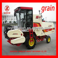 4LZ-2A new farming use wheat combine mini grain harvester
