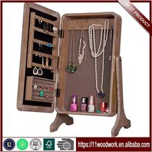New Desktop Jewelry Storage Dressing Cabinet With Mirror