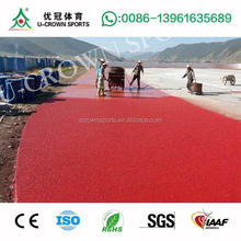 Spray Coat rubber Running Track Flooring Surfaces spray coat paint Track SBR/EPDM Granules Run way Track