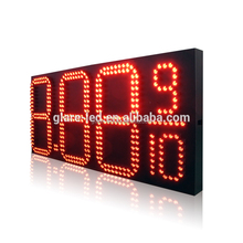 factory direct fast delivery 42'' digital led gas price sign display