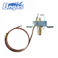 B880311cheap price room safety gas heater parts ods pilot burner with flame sensor