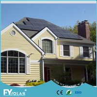 2KW off grid solar energy system,stand alone solar panel kits with solar panel mounting