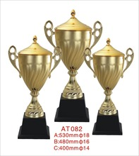 Custom metal world cup sport trophy manufacturer china