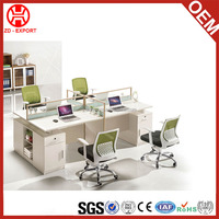 2016 Latest Design 4 Seats Office