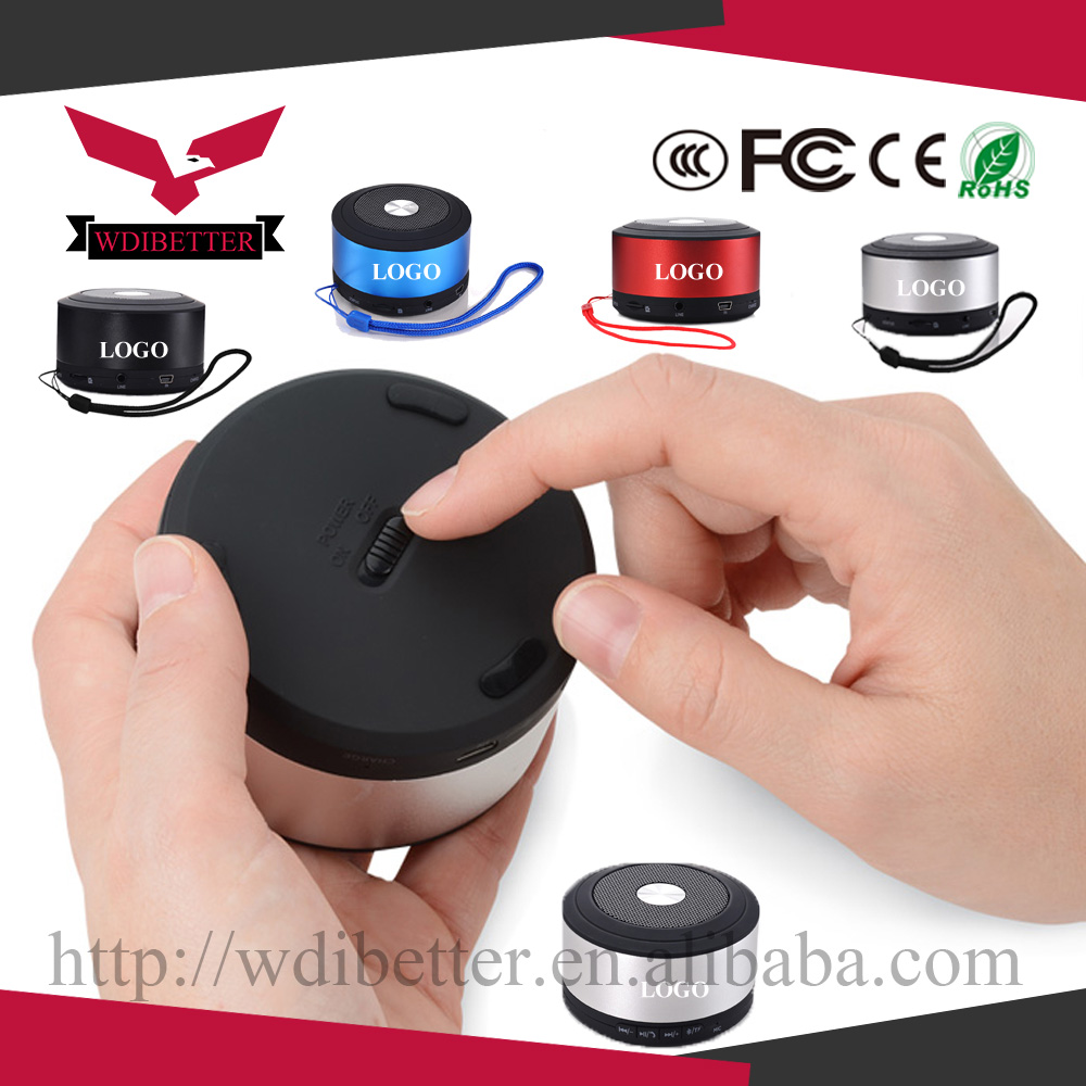 2017 Hot Sale N8 Portable Mini Bluetooth Speaker For Computer Speaker With TF USB FM Mic With Logo Printing