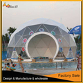 Factory price excellent Quality 12m geodesic dome tents for sale