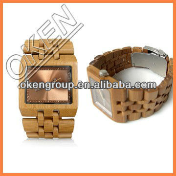 New Concept Attractive Bamboo Watch