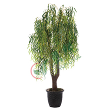 2m hight 24 branches artificial weeping willow tree