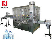 Automatic pet bottle water filling machine