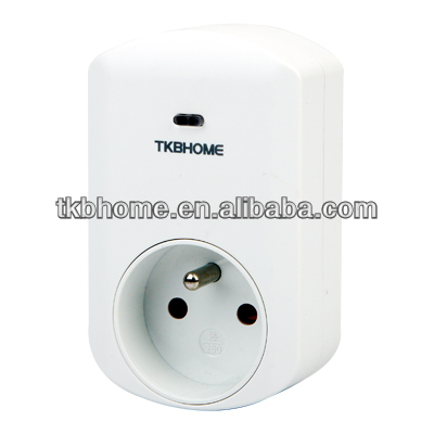 TZ88F z-wave smart meter pug in switch type of French with 500 series