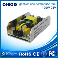 120W 24V single output waterproof led driver and power supply for led CC120AUA-24