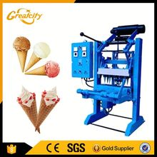 Automatic industrial sugar cone making machine | waffle ice cream cone making machine