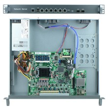 Industrial Firewall with Intel B75 LGA1155 1000M 6*82574L Firewall software network router server