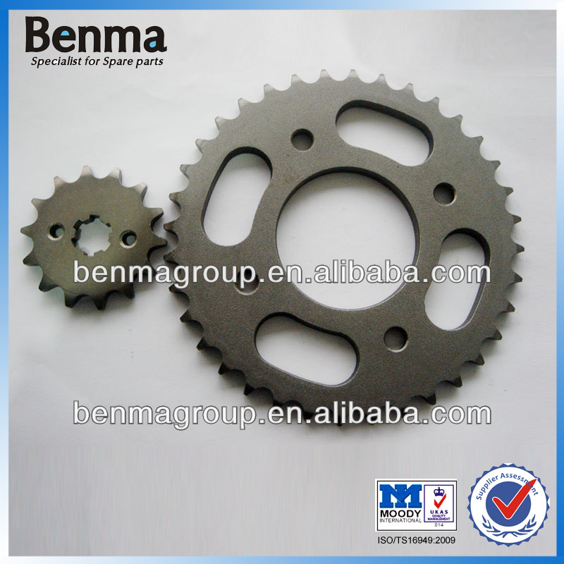 High Rigidity Sprocket for WAVE110 Motorcycle, Motorcycle Sprocket 428 35T 14T, for Cambodia Market!!