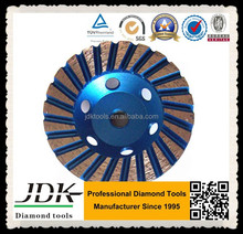 diamond turbo stone cup grinding wheels for granite, marble