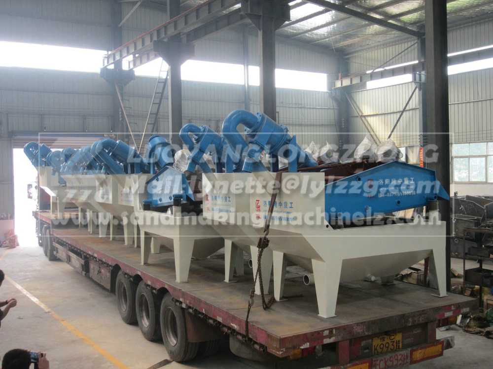LZ sand recycling machine export to Sri lanka