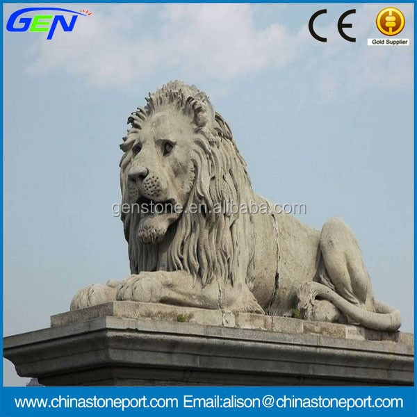 Natural Stone Carving Animal Garden Marble Sculpture