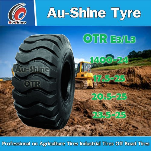 chinese famouse brand triangle OTR tire 33.00 51 with E3 goodyear otr