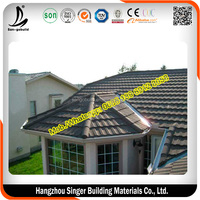 Al-Zinc Steel Sheet Material Metal Roof In Kenya