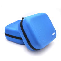 wholesale ballistic nylon carry case shockproof protective eva headphone custom case