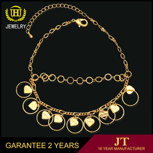 Lucky Anklets Gold PlatedJewelry Ankle Bracelets Design For Girls