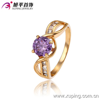 13201-best sale xuping jewelry 18k gold colour women's ring 2016 fashion gold jewelry
