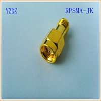 Reverse Polarity SMA Connector For One End Male Transfer To One End Female Same Type RF Coaxial Adapter