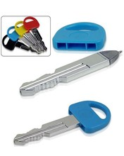 plastic key pen for promotion