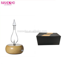 MAXECHO Wood Grain Diffuser, Magnificent Nebulizing Essential Oil Diffuser for Aromatherapy, SPA Life