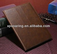 Hot sell Book leather case for ipad 5 pouch case