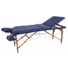 Wooden portable body choice folding massage table