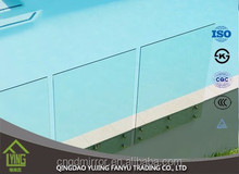 low iron super clear tempered glass/toughened glass for outlet