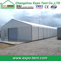 Temporary mobile workshop tent