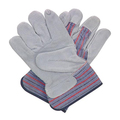 Brand MHR High quality cow split leather gloves/cowhide gloves docker gloves