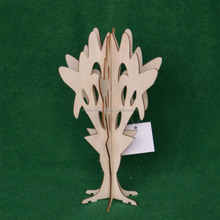 Unfinished Wood Tree Cutouts for Painting and Crafting