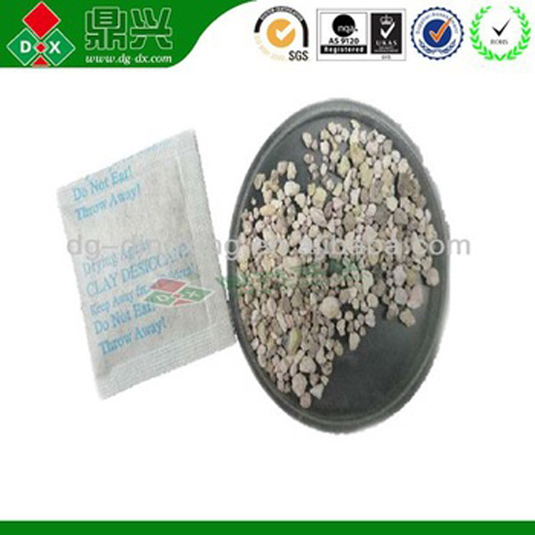 Natural smectite Desiccant children products used