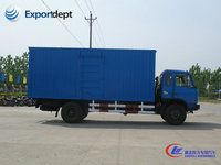 dongfeng 8ton pickup cargo van truck for sale,chinese 4x2 van truck manufacturer