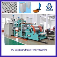 PE stretch film extrusion line / PE winding film extrusion line