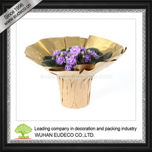 Waterproof kraft bouquet cover pot cover plant cover