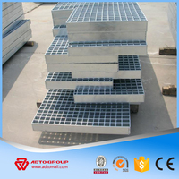 ADTO Group Serrated Type Steel Grating Welded Q235 Q345 High Quality For Industrial Use Garage Floor Water Drainage Wholesale