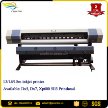 Price of smart color 1.8M vinyl printer/flex banner printing machine price