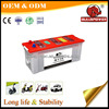 Newest n12012v 120ah manufacture automotive battery