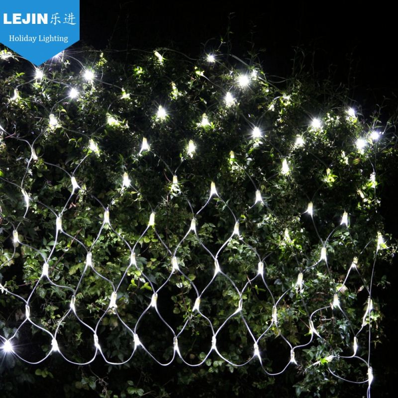 SAA CE warm white led christmas net lights for holiday home use